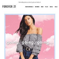 [FOREVER 21] SOON-TO-BE SOLD OUT