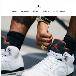 [Nike] Get it Now: Air Jordan 5 Retro