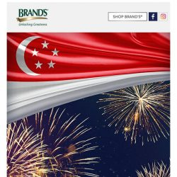 [Brand's] With $20 off this National Day, let the fireworks fly!