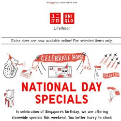 [UNIQLO Singapore] Let's get the party started! 🎉