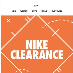 [Nike] Up to 40% Off! Don't Miss Out. Shop Nike Clearance.