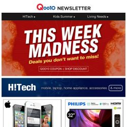 [Qoo10] Looking Forward To The Short Week? Check Out What You Might Have Missed This Week!