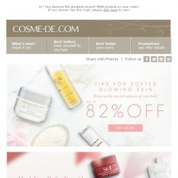 [COSME-DE.com] 【🎁 Free Gift Here】Plus Tips for ✨Glowing Skin