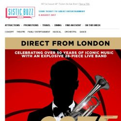 [SISTIC] 007 In Concert – Tickets On Sale Now!