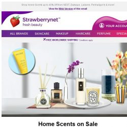[StrawberryNet] Spice Up Your Home and Get a FREE Decleor Hand Cream 🎁~!