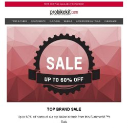 [probikekit] Top Brand SALE - Up to 60% off...