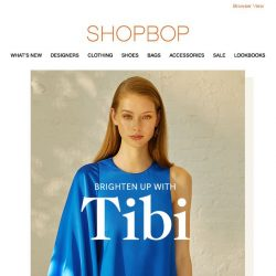 [Shopbop] Must-have pieces from Tibi