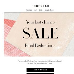 [Farfetch] Our Sale clearance is now on