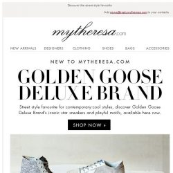 [mytheresa] Just landed: Golden Goose Deluxe Brand + free shipping