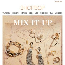 [Shopbop] Modern jewelry that goes with everything
