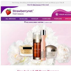 [StrawberryNet] , Here's the Secret to Making Skin to Look 10 Years Younger