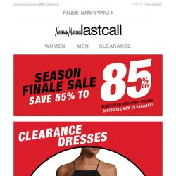 [Last Call] 55%–85% off dresses for all your summer days & nights
