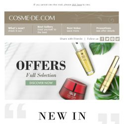[COSME-DE.com] NEW & NOW🔥 Trends and Offers for YOU