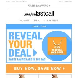 [Last Call] Buy now, save now + REVEAL YOUR DEAL!