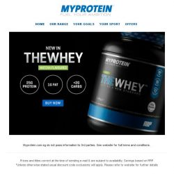 [MyProtein] The Matcha family just got bigger...