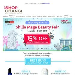 [iShopChangi] Mirror mirror on the wall, here's the fairest sale of all!