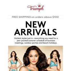 [Triumph] ✨ Hottest New Arrivals Just In!