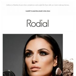 [RODIAL] Have You Discovered Our Most Iconic Makeup?