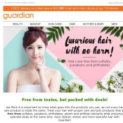 [Guardian] Time to detox your hair with brands that are free from harming toxins!
