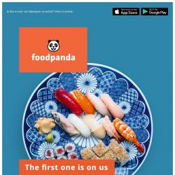[Foodpanda] Give in, delivery's free