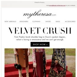 [mytheresa] New-season velvet pieces: Chloé, Gucci, Off-White... + free shipping