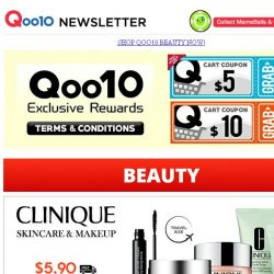 [Qoo10] Xndo - Food For Health 30% Off Storewide + FREE Shipping! Clinique Skincare & Makeup Travel Size at $4.90 + FREE Shipping!