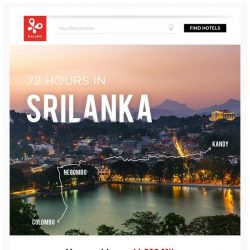 [Kaligo] , earn up to 11,200 Miles in just 72 hours, while exploring Sri Lanka!