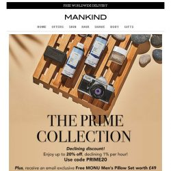 [Mankind] Last Chance | Shop & save 20% PLUS free gift inside!