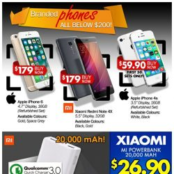 [Qoo10] Branded Phones Below $200...Apple Going As low As $59.90!!! One Day Only ~~