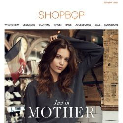[Shopbop] Perfect jeans and more from MOTHER
