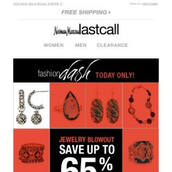 [Last Call] Jewelry BLOWOUT   up to 65% off   1 day only!