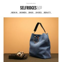 [Selfridges & Co] We're all about matchy-matchy accessories
