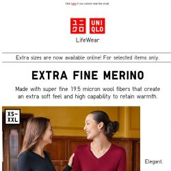 [UNIQLO Singapore] All that you need. Now on offer!