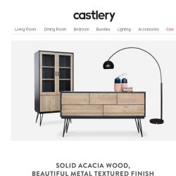 [Castlery] The real show stopper – Reed Sideboard & Highboard