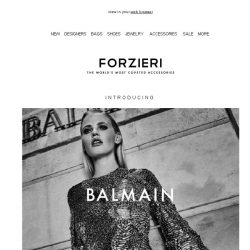 [Forzieri] The Balmain Take Over - Proceed with Caution