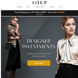 [Gilt] Fall for It: Shop Designer Investments by Max Mara, Saint Laurent & More