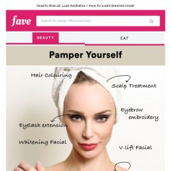 [Fave] Pamper yourself and your significant half!