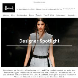 [Harrods] Your Favourite Designers In One Edit…