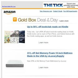 [Amazon] Up to 80% off bookclub reads on Kindle