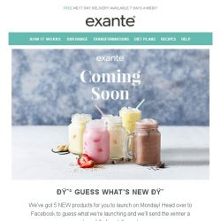 [Exante Diet] Guess what's coming...