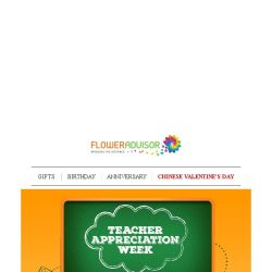[Floweradvisor] Let's Celebrate Them Who Bring The Best Out Of Singapore, Teachers!