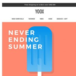 [Yoox] Neverending Summer: EXTRA 20% OFF