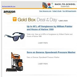 [Amazon] Up to 60% off Sunglasses by William Painter and...