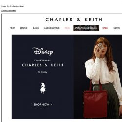 [Charles & Keith] Disney Alice in Wonderland Collection by CHARLES & KEITH