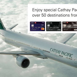 Cathay Pacific Airways: Travel the world with HSBC cards from SGD188 all-in