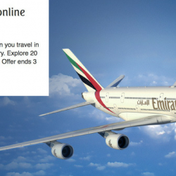 Emirates: Month-end Online Fares With Up to 50% OFF 20 Destinations!