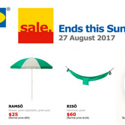 IKEA: Sale Ends This Sunday + Enjoy Half Spring Chicken Meal For Only $5.90!