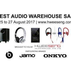 Hwee Seng: Online Warehouse Sale with Up to 85% OFF Headphones, Earphones, Speakers & More!