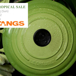 Le Creuset: Tropical Sale at Tangs VivoCity with 50% OFF Selected Cookware
