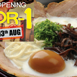 Ramen Champion: 1-for-1 Tonkotsu Ikkyu Ramen at Clarke Quay Central